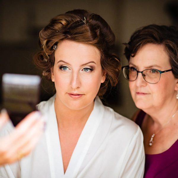 Bruids make-up Irma (foto door www.pacovanleeuwen.nl)