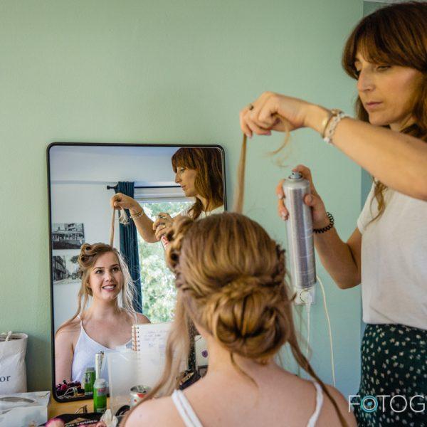 Bruidskapsel Chiara (foto door fotografia.nu)