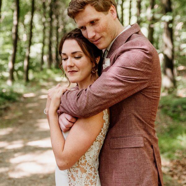 Bruidsmake-up en kapsel Nienke (www.larissanijholtfotografie.nl)